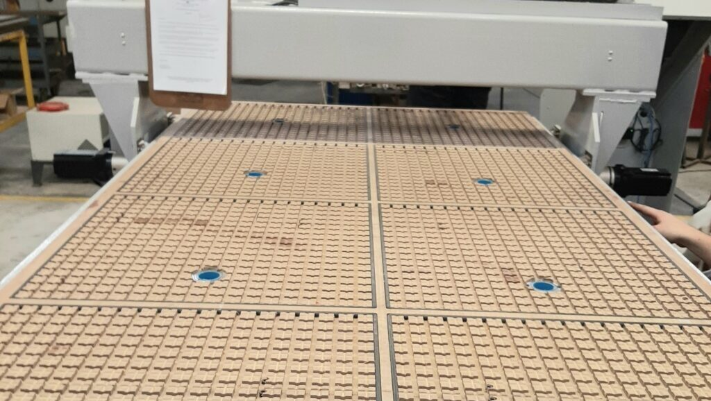 Unicam-Vacuum Table